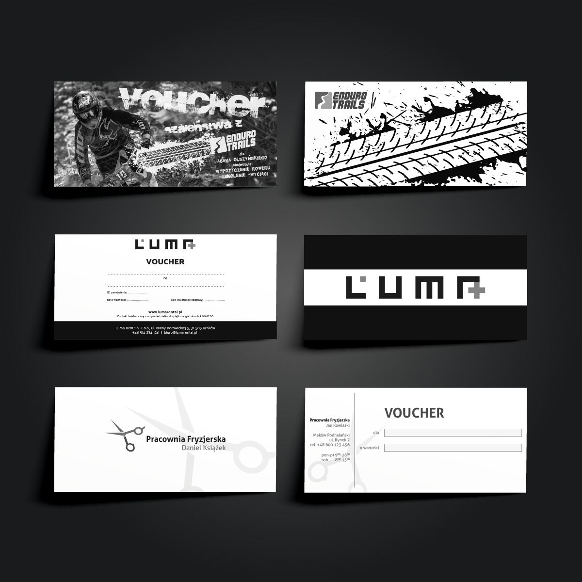 projekty Voucherów