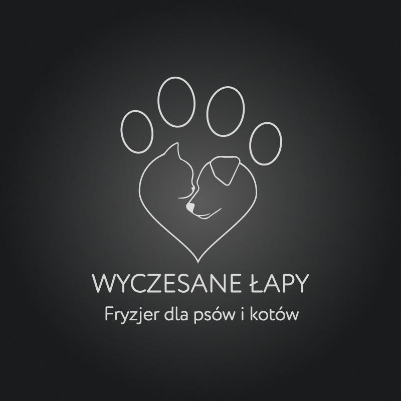 Logo wyczesane łapy