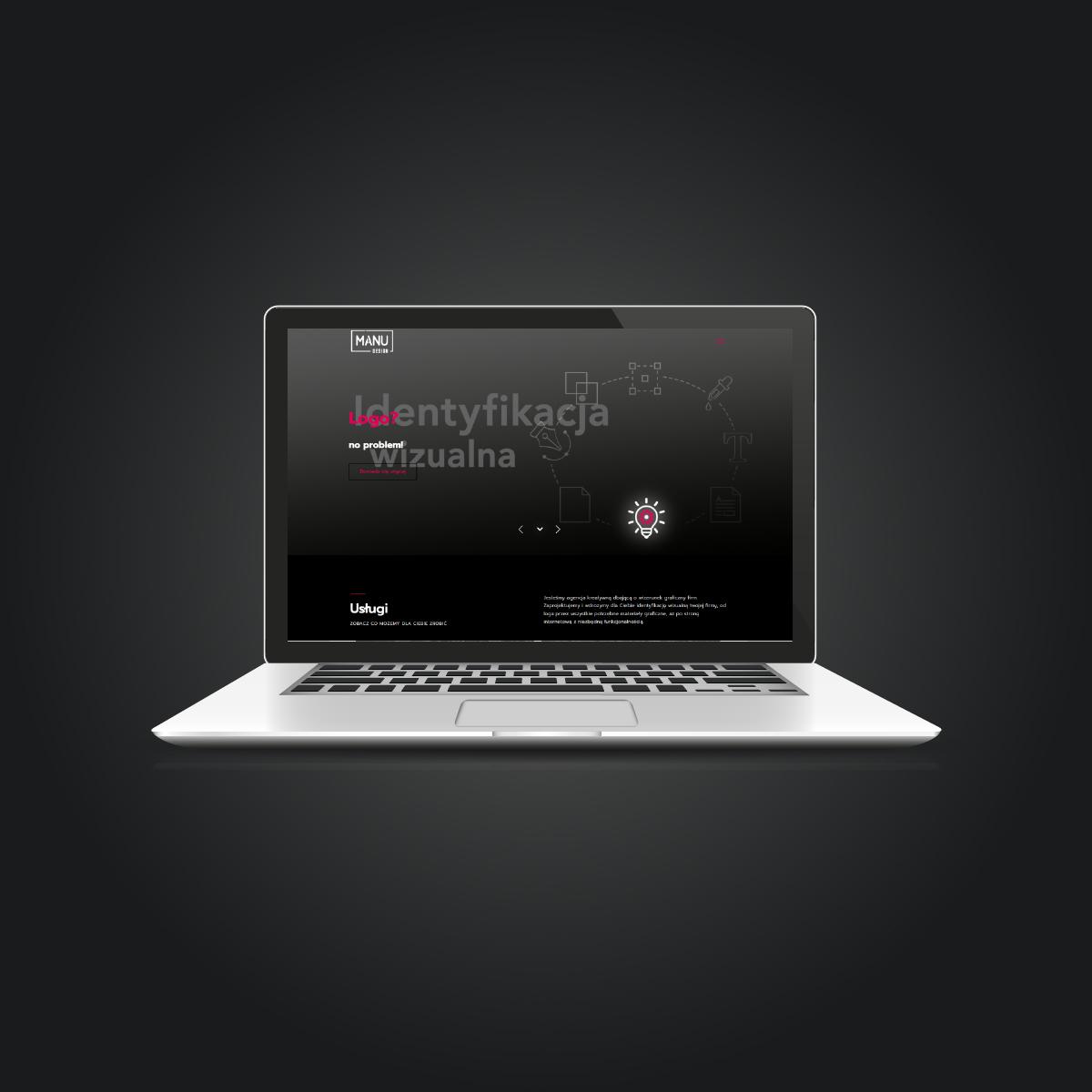 Strona internetowa Manu Design